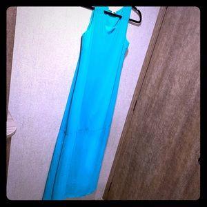 Gianni Bini Teal Maxi Dress